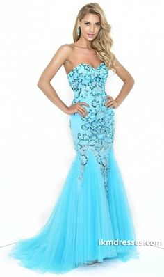 http://www.ikmdresses.com/2014-Sweetheart-Mermaid-Prom-Dress-Beaded-Bodice-With-Tulle-Skirt-p85176