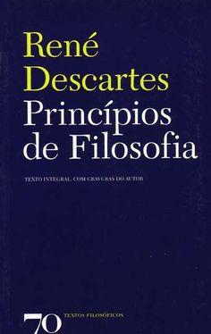 Renê Descartes, Princípios de Filosofia.