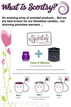 How Scentsy Works♥ #scentsy order online and it will ship directly to your house https://lisarucker.scentsy.us