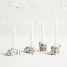 Animal Candlesticks