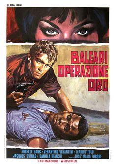 A Year of Spy Films 361/365 Zarabanda bing bing (1966 Italy / Spain / France) aka Banco for a Gold Killer  The International Spy Film Guide Score: 8/10 #isfg #spyfilmguide #eurospy #danielabianchi #spymovie #mediterranean #mireilledarc https://www.kisskisskillkillarchive.com