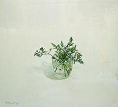 Alberto Romero - Vaso con trallos de Zanahoria