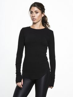 Sloane Rib Long Sleeve