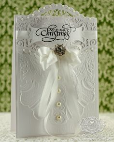 Amazing Paper Grace Christmas is the Day, Spellbinders Roman Romance, Dreaming of a White Christmas by Becca Feeken on September 21, 2013