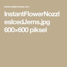 InstantFlowerNozzlesIcedJems.jpg 600×600 piksel