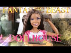 DIY - How to Make: Fantastic Beast Dollhouse -  Handmade Doll Craft - 4K - YouTube