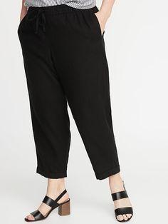 78a8fb049819 17 Best Linen crop pants images | Women's clothes, Trousers ...