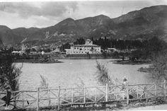 Este es el lago Luna Park, que estaba localizado donde hoy queda el Barrio Restrepo de Bogotá, aproximadamente  en la Avenida Caracas con calle 11 sur. Estaba formado por humedales del Rio Fucha.