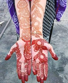 fronthand with arm mehndi design ideas - Full Mehndi Designs - Hand Henna Designs Indian Henna Designs, Full Hand Mehndi Designs, Simple Arabic Mehndi Designs, Mehndi Designs For Girls, Mehndi Designs For Beginners, Stylish Mehndi Designs, Dulhan Mehndi Designs, Mehndi Design Photos, Bridal Henna Designs