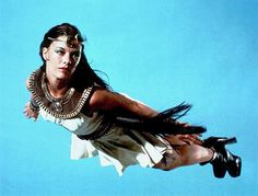 "The Shazam!/Isis Hour - ""O zephyr winds which blow on high...lift me now so I can fly."" With those words spoken, Joanna Cameron soars through the air as Isis in the 1975-77 Saturday morning live-action show."