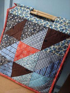 /// Bag #patchwork #bag #handmade