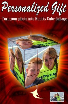 Gift Ideas for Girlfriend - Rubik's Cube collage