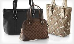 Groupon - Gucci Totes, Handbags, Shopper Bags, and Messengers (Up to 56% Off). 13 Options Available. Free Shipping. in Online Deal. Groupon deal price: $659.00