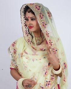 Custom hand embroidered Rajputi poshak for wedding Embroidery Suits Punjabi, Embroidery Dress, Rajasthani Lehenga, Saree Designs Party Wear, Gota Patti Saree, Bridal Chuda, Neck Designs For Suits, Rajputi Dress, Royal Dresses