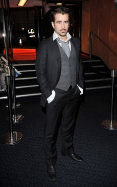 UK premiere of 'The Way Back' at The Curzon Mayfair on December 2010 in London, England. [Photo by Jon Furniss/WireImage] Blonde Weave, The Way Back, Colin Farrell, Fright Night, Fantastic Beasts, Perfect Man, Man Crush, London England, Beautiful Men