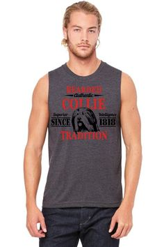 Authentic Bearded Collie Tradition Muscle Tank