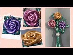 DIY Balloon Rose Bouquet /Balloon Bouquet/Balloon Flowers/Rose Balloon Bouquet - YouTube Balloon Flowers, Balloon Bouquet, Balloon Arch, Balloon Garland, Balloon Crafts, Balloon Gift, Balloon Decorations Party, Flower Bouquet Diy, Rose Bouquet