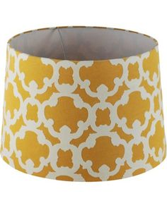 Revamp your old lamp with this inexpensive lampshade! Get it here: http://www.bhg.com/shop/threshold-threshold-flocked-lamp-shade-large-wasabi-p518893dde4b0aae02581e25c.html?mz=a