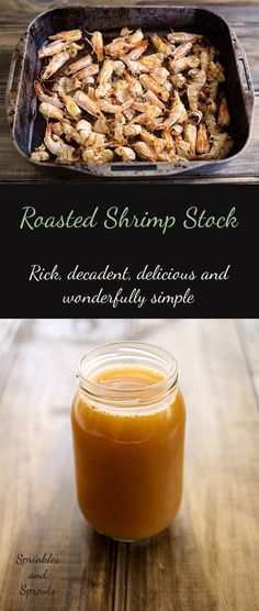 How To Make Shrimp Stock Recipe Pinterest Sauces Stew And