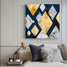 Geometric art Abstract Paintings On Canvas art Gold painting extra Large framed Wall art Dinning Room wall Pictures cuadros abstractos Abstract Geometric Acrylic Painting On Canvas Extra Large Wall art Dinning Room Pictures Decor cuad Large Framed Wall Art, Extra Large Wall Art, Abstract Canvas Art, Acrylic Painting Canvas, Abstract Paintings, Large Painting, Abstract Geometric Art, Art Paintings, Diy Wall Art