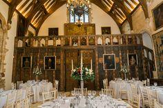 Joe & Emma's Winter Berkeley Castle Wedding, Gloucestershire Wedding Breakfast, Christmas Wedding, Brides, Castle, Weddings, Table Decorations, Winter, Flowers, Winter Time