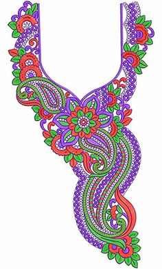 Walima Dresses Embroidery Neck Design