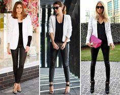 ZARA is the new black: La chaqueta del verano: el blazer en color blanco
