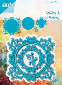 6002/0537 Noor! Design Blauwe mal met swirls
