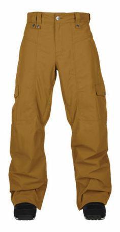 New Mens Bonfire Davis Shell Ski and Snowboard Pants Large Driftwood | eBay