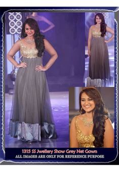 Sonakshi Sinha Bollywood Replica Long Anarkali Dre