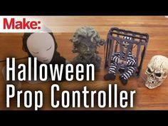 Use Arduino to control Hallowwen props!