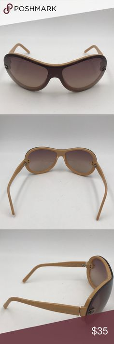 0a3965ad94501 Chanel Nude Aviators. AUTHENTIC CHANEL Nude Aviator Sunglasses Lenses in  Poor Condition Model  5066