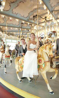 Glen Echo Park Wedding by Sweet Tea Photography  Read more - http://www.stylemepretty.com/2011/08/10/glen-echo-park-wedding-by-sweet-tea-photography/