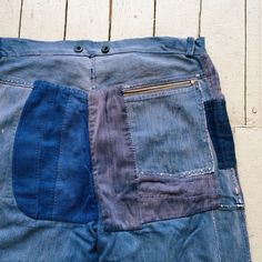 #goodbutt #french #workwear pants #repaired and perfect