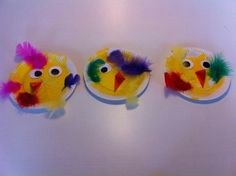 Påske Kindergarten Crafts, Daycare Crafts, Sunday School Crafts, Summer Art Activities, Preschool Activities, Diy For Kids, Crafts For Kids, Easter 2018, Spring Birds