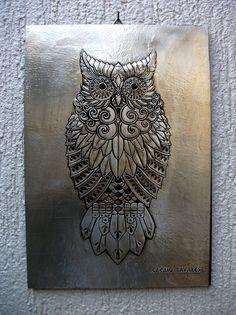 Owl by CacaioTavares.deviantart.com on @deviantART