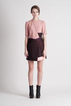 Feldblume A-structural Mini Dress_Wine by FreaksKIMTAEHOON on Etsy