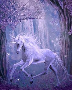 Wallmonkeys Last Unicorn Peel and Stick Wall Decals in H x 19 in W), Medium Unicorn And Fairies, Unicorn Fantasy, Unicorns And Mermaids, Magical Creatures, Fantasy Creatures, Beautiful Creatures, Unicorn Drawing, Unicorn Art, Beautiful Unicorn
