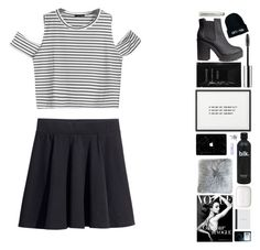 """""""in time we just wither away"""" by everything-is-peachy ❤ liked on Polyvore featuring H&M, Clinique, Cleanse by Lauren Napier and Sisley Paris"""