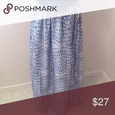 BILLABONG MAXI SKIRT SO CUTE Elastic waist u could wear high or as skirt see second pic Billabong Dresses