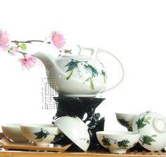 7pcs Deluxe Tea Set, Porrtery Teaset,Loofah,A2TY02, Free Shipping on AliExpress.com. $51.99