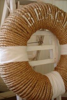 GREAT IDEA to DIY: Coastal Living ⚓ Beach Cottage Life ⚓