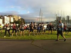 Bootcamp at Rushcutters Bay, Sydney