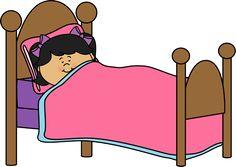 Girl Sleeping Clip Art Clip art Art for kids Kids clipart
