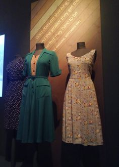 'Fashion on the Ration' exhibition at the Imperial War Museum