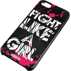 Inspired Cases Fight Like A Girl Paint Case for iPhone 5 & 5s Inspired Cases