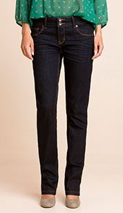 Jeans in jeans blu scuro