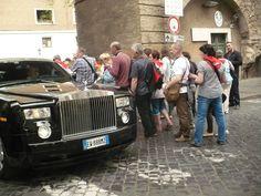 Rolls-Royce'em na Watykan