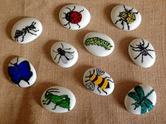 Story Stones... Insect collection ideal for by ImagineImagineToys