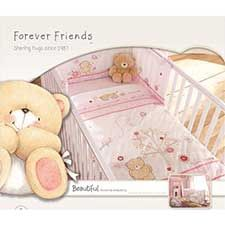 Forever Friends Beautiful Cot/Cot Bed Bumper